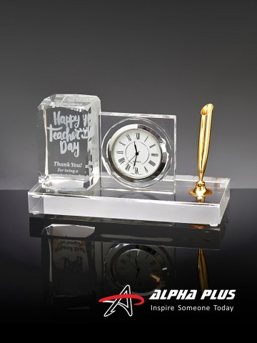 AP558 Clock and Pen Holder
