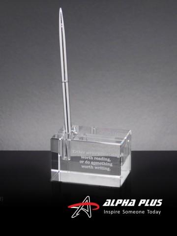 XT-700 Crystal Pen Holder