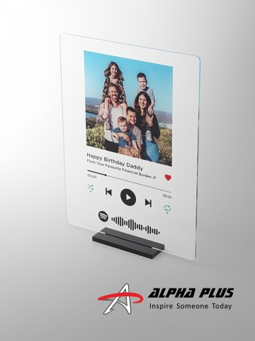 AAP2 Spotify Music Plaque