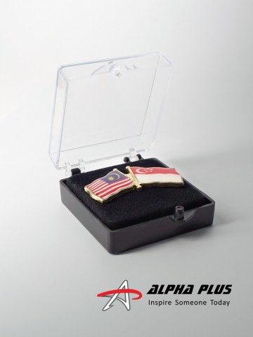 Collar Pins - Acrylic Box
