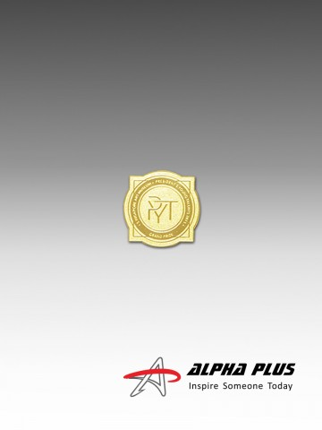 Customised Collar Pin (GOLD PLATED)