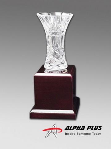 6115 Crystal Vase