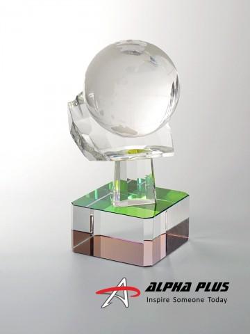 Crystal Hand Globe - CBC