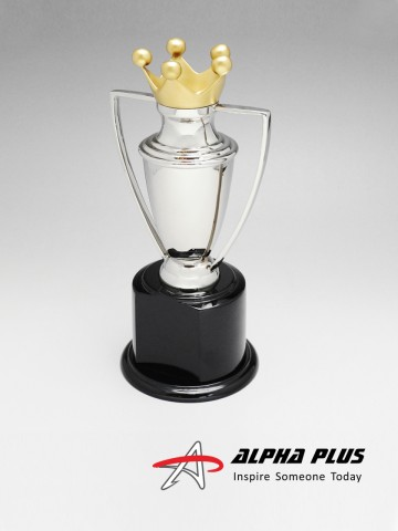 Nickel Plated Crown Cup