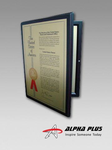 Patent Wood Plaque