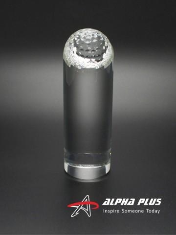 HS2727 Cylinder Golf Crystal