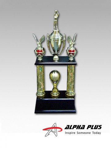 2 Bar Trophy – Basketball
